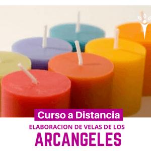 Elaboración de velas de los Arcángeles