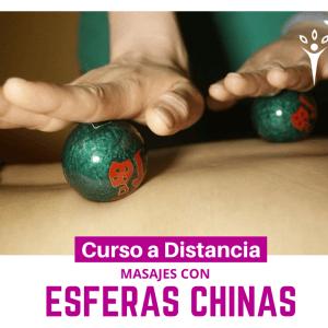 Masajes con esferas chinas